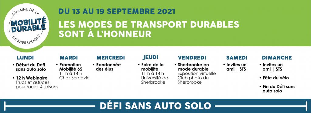 Semaine de la mobilité durable 2021